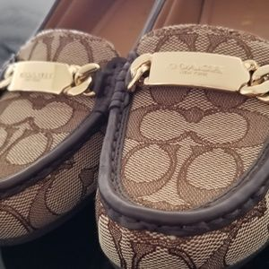 Coach Loafer Flats 7.5